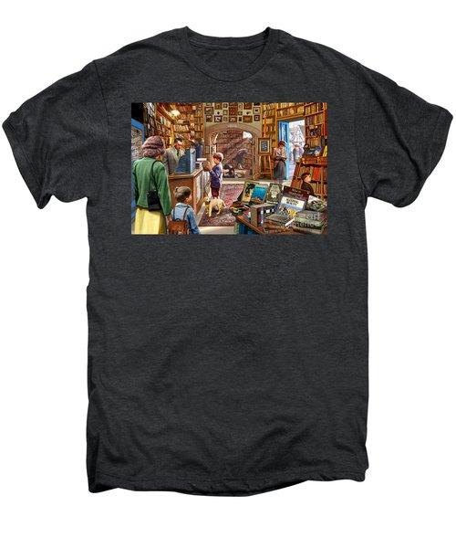Bookshop Men's Premium T-Shirt