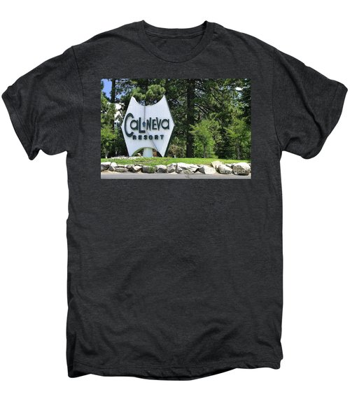 Cal Neva Resort - Lake Tahoe Men's Premium T-Shirt