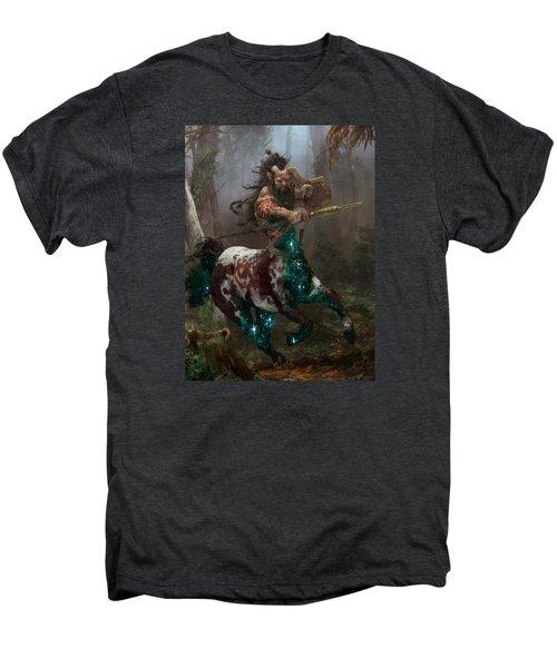Centaur Token Men's Premium T-Shirt by Ryan Barger