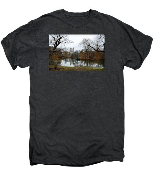 Central Park And San Remo Building In The Background Men's Premium T-Shirt by RicardMN Photography