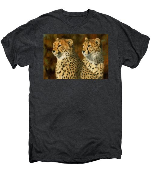 Cheetah Brothers Men's Premium T-Shirt