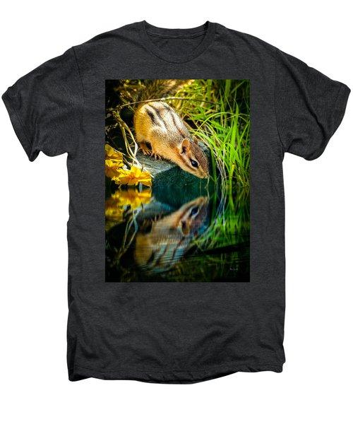 Chipmunk Reflection Men's Premium T-Shirt