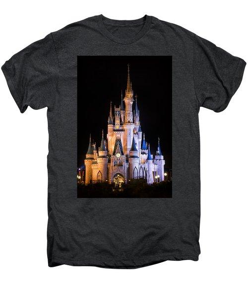 Cinderella's Castle In Magic Kingdom Men's Premium T-Shirt