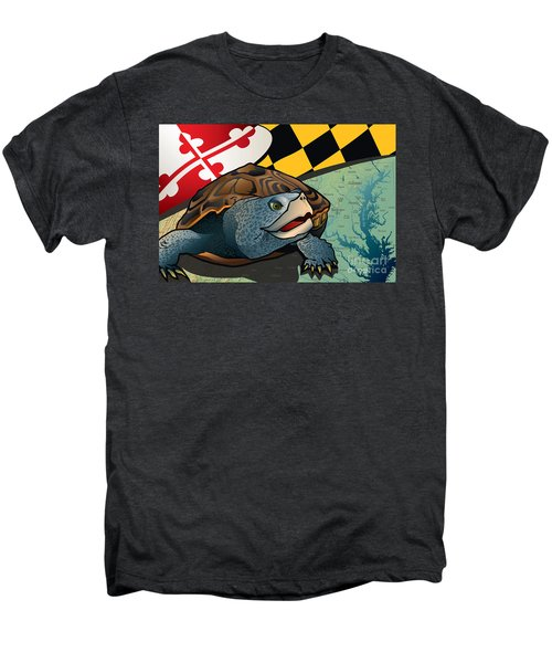 Citizen Terrapin Maryland's Turtle Men's Premium T-Shirt by Joe Barsin