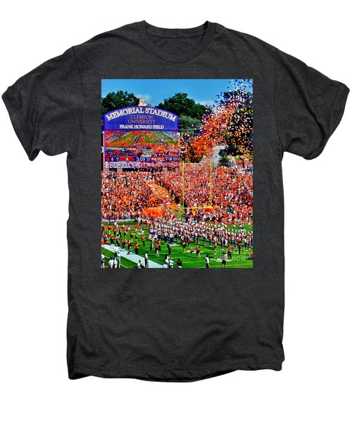 Clemson Tigers Memorial Stadium Men's Premium T-Shirt