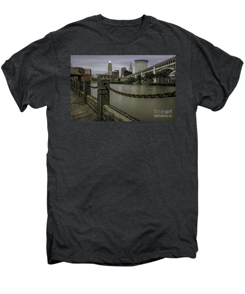 Cleveland Ohio Men's Premium T-Shirt by James Dean