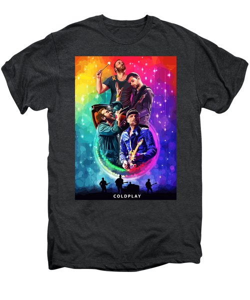 Coldplay Mylo Xyloto Men's Premium T-Shirt by FHT Designs
