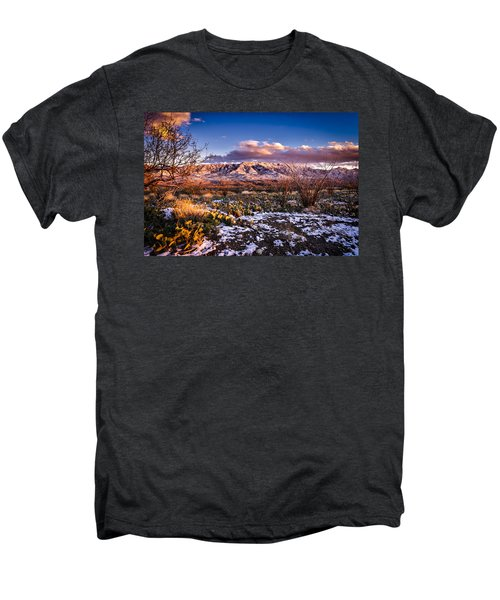 Men's Premium T-Shirt featuring the photograph Colors Of Winter by Mark Myhaver