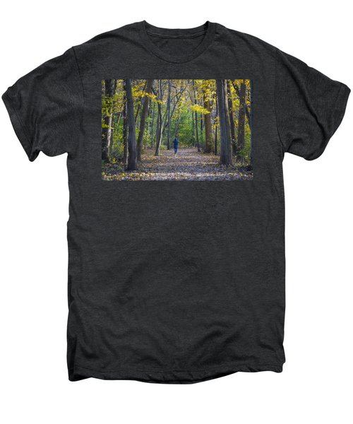 Men's Premium T-Shirt featuring the photograph Come For A Walk by Sebastian Musial