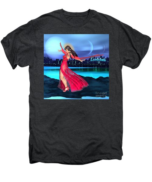 Conjunction Men's Premium T-Shirt by Renate Janssen