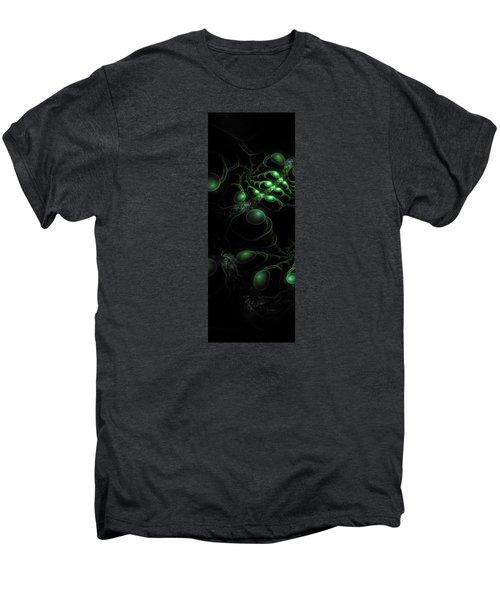 Cosmic Alien Eyes Original Men's Premium T-Shirt