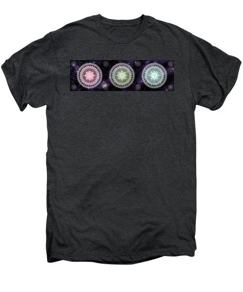Cosmic Medallians Rgb 2 Men's Premium T-Shirt