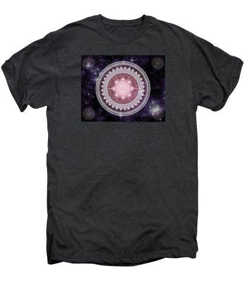 Cosmic Medallions Fire Men's Premium T-Shirt