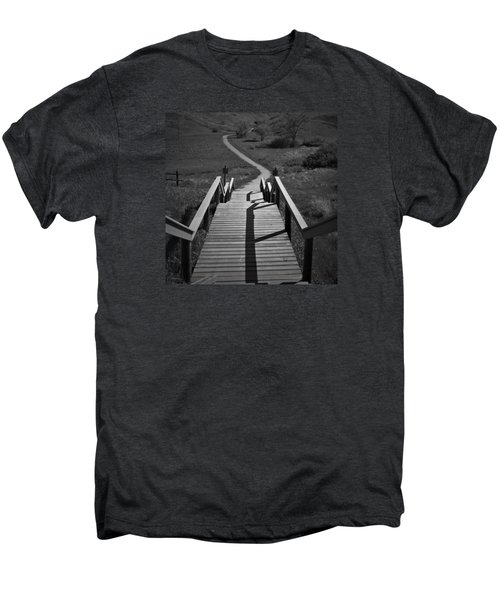 Coulee Stairs Men's Premium T-Shirt