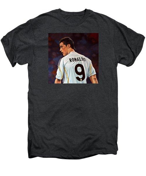 Cristiano Ronaldo Men's Premium T-Shirt by Paul Meijering