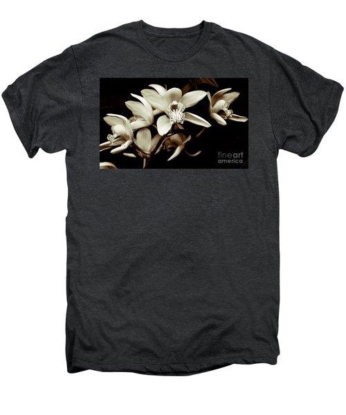 Cymbidium Orchids Men's Premium T-Shirt