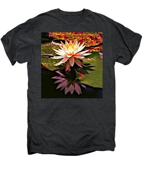 Cypress Garden Water Lily Men's Premium T-Shirt