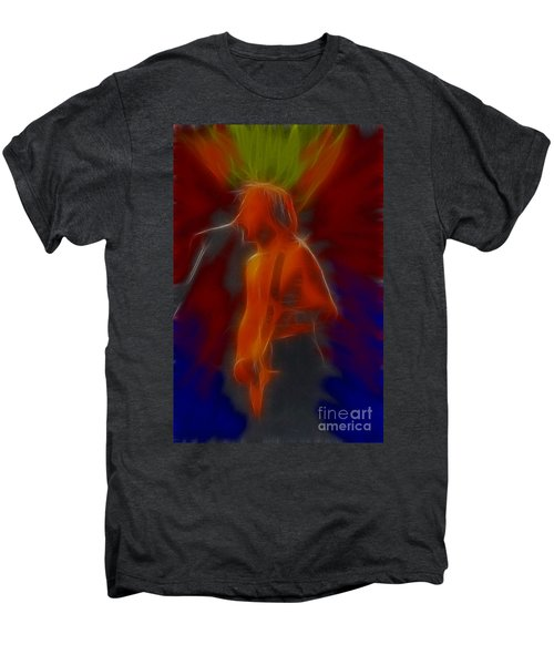 Def Leppard-adrenalize-gb13-phil-fractal Men's Premium T-Shirt by Gary Gingrich Galleries