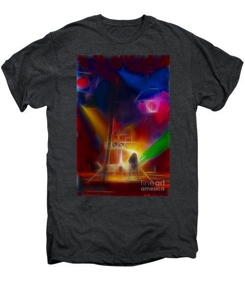 Def Leppard-adrenalize-gf10-fractal Men's Premium T-Shirt by Gary Gingrich Galleries