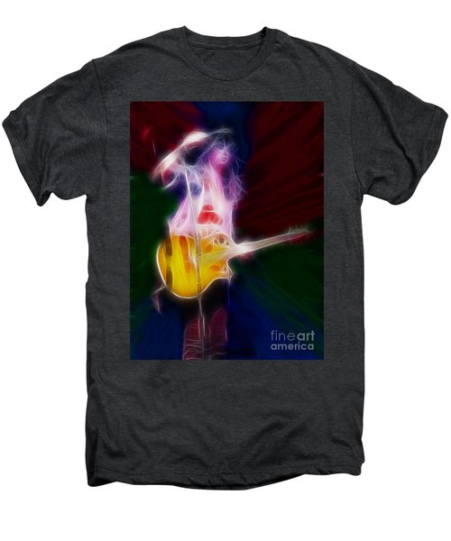 Deff Leppard-adrenalize-joe-gf25-fractal Men's Premium T-Shirt