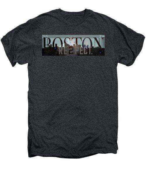 Derek Jeter - Boston Men's Premium T-Shirt by Joann Vitali