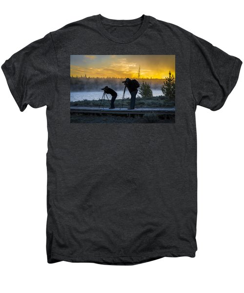 Early Birds Yellowstone National Park Men's Premium T-Shirt