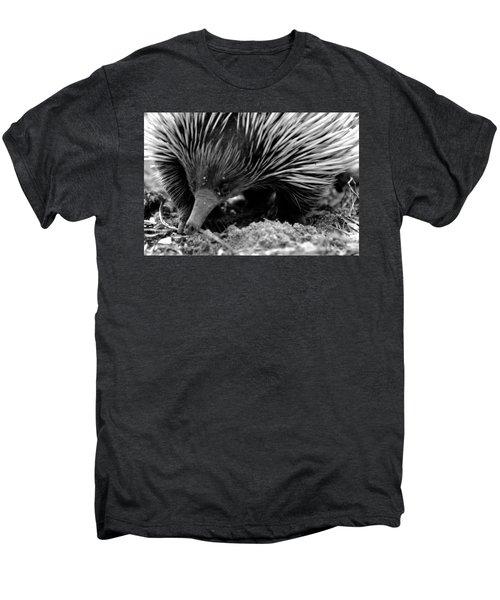 Men's Premium T-Shirt featuring the photograph Echidna by Miroslava Jurcik