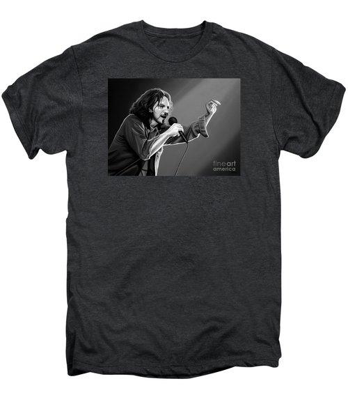 Eddie Vedder  Men's Premium T-Shirt by Meijering Manupix