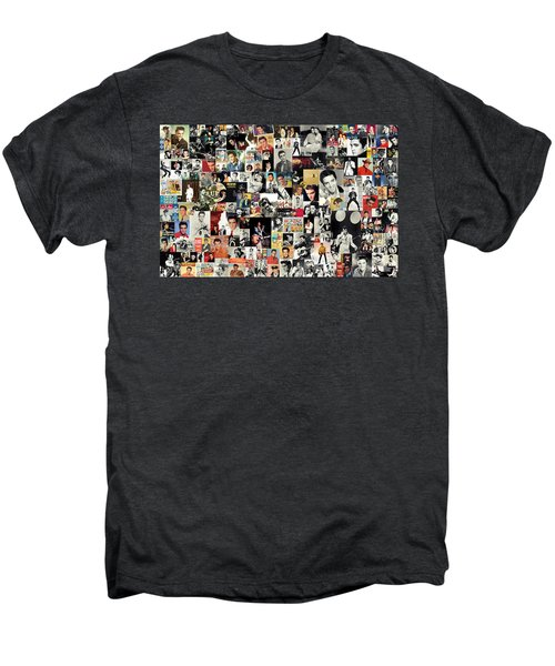 Elvis The King Men's Premium T-Shirt