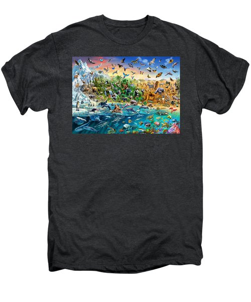 Endangered Species Men's Premium T-Shirt by Adrian Chesterman