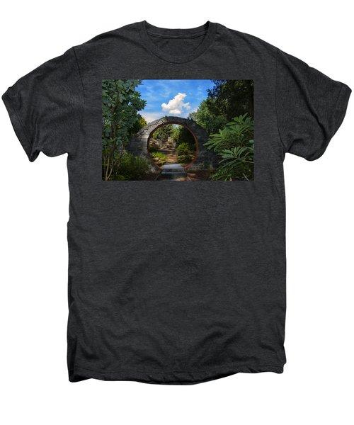 Entering The Garden Gate Men's Premium T-Shirt