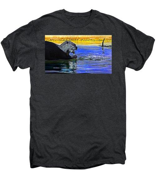 Find A Crab  Crunch A Crab Men's Premium T-Shirt by Miroslava Jurcik