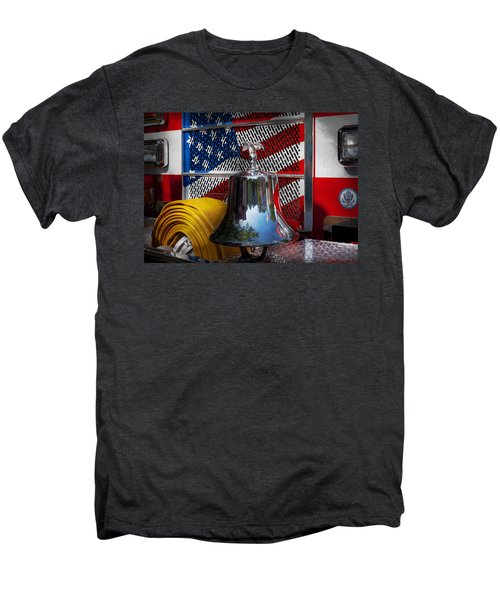 Fireman - Red Hot  Men's Premium T-Shirt