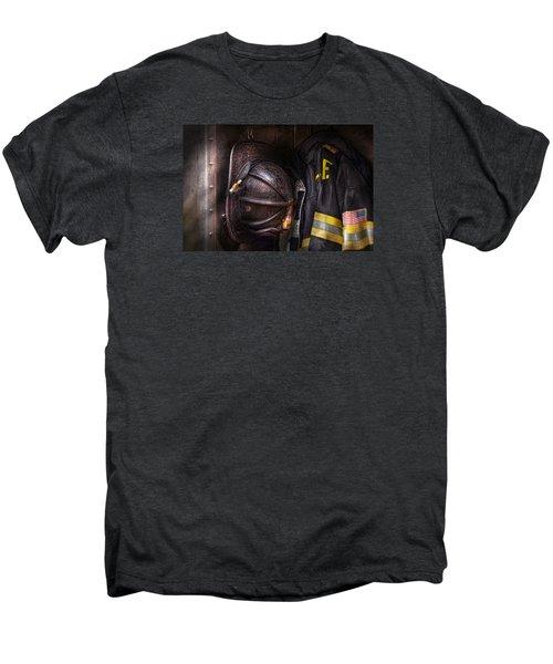 Fireman - Worn And Used Men's Premium T-Shirt