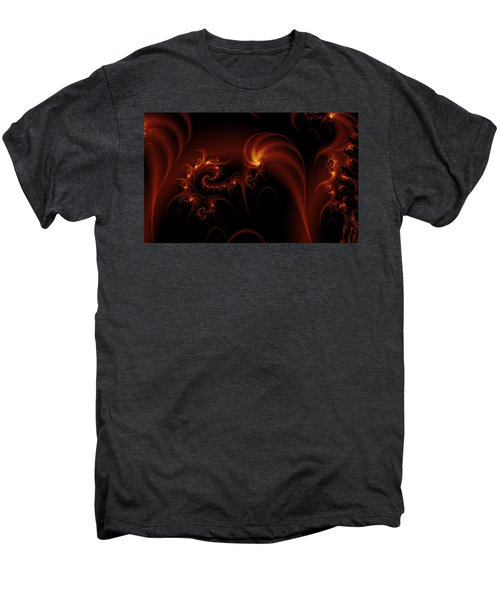 Floating Fire Fractal Men's Premium T-Shirt