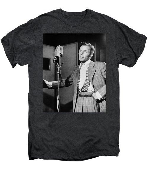 Frank Sinatra Men's Premium T-Shirt by Mountain Dreams