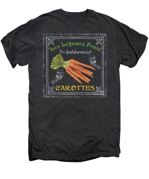 French Vegetables 4 Men's Premium T-Shirt by Debbie DeWitt