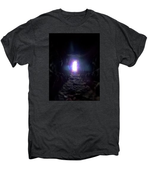From Dark To Bright Men's Premium T-Shirt by Marc Philippe Joly