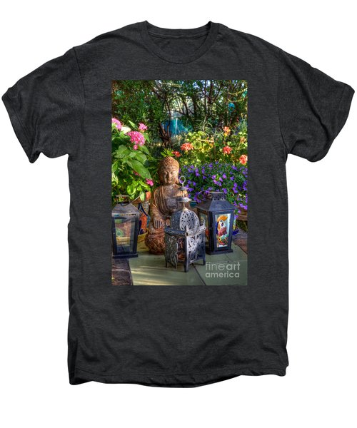 Garden Meditation Men's Premium T-Shirt