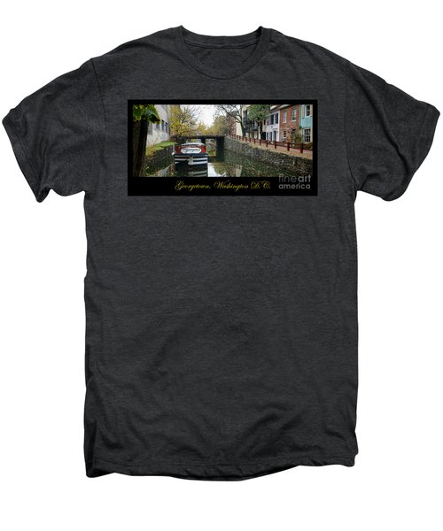 Georgetown Canal Poster Men's Premium T-Shirt