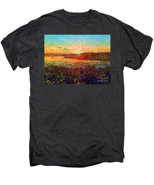 Georgian Bay Sunset Men's Premium T-Shirt