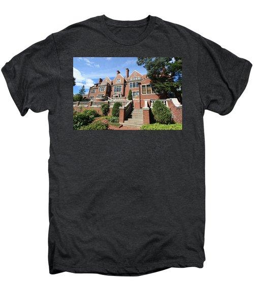 Glensheen Mansion Exterior Men's Premium T-Shirt by Amanda Stadther