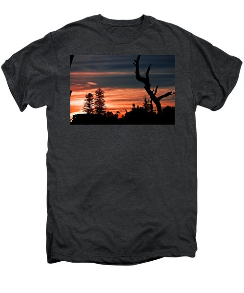 Men's Premium T-Shirt featuring the photograph Good Night Trees by Miroslava Jurcik