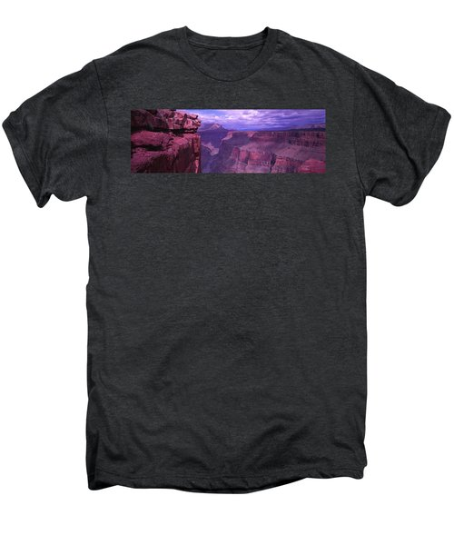 Grand Canyon, Arizona, Usa Men's Premium T-Shirt by Panoramic Images