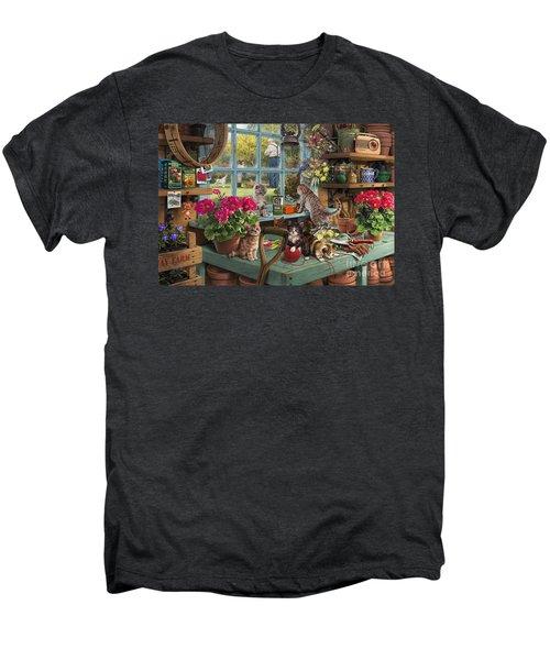 Grandpa's Potting Shed Men's Premium T-Shirt
