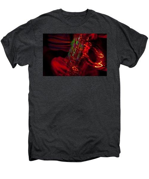 Men's Premium T-Shirt featuring the photograph Great Sax by Alex Lapidus