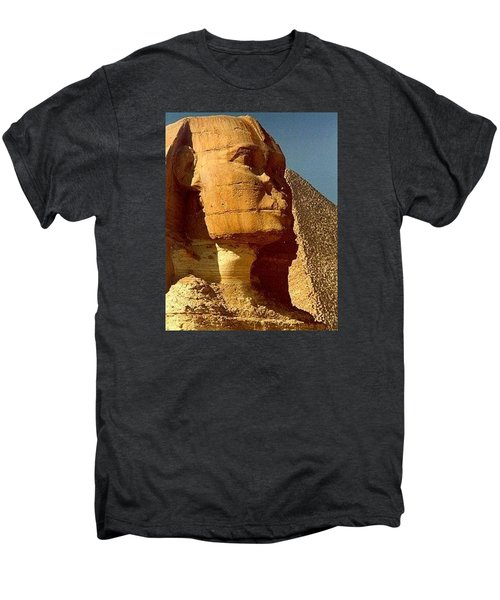 Men's Premium T-Shirt featuring the photograph Great Sphinx Of Giza by Travel Pics