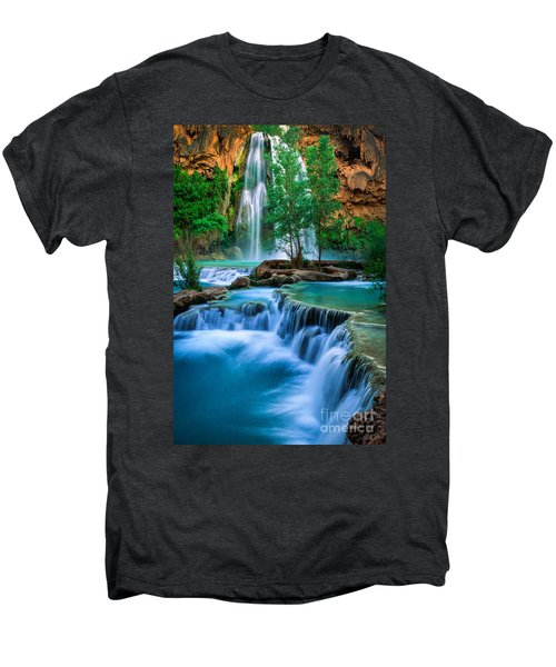Havasu Paradise Men's Premium T-Shirt by Inge Johnsson