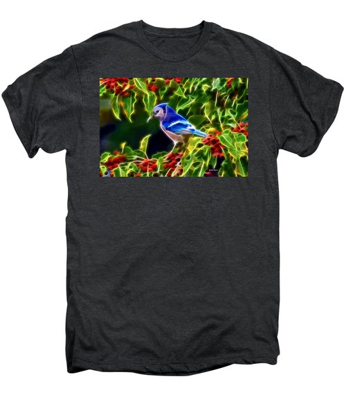 Hiding In The Berries Men's Premium T-Shirt by Stephen Younts