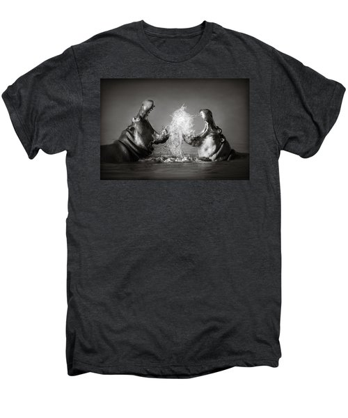 Hippo's Fighting Men's Premium T-Shirt